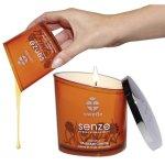Masáže teplým voskem - masážní svíčkou