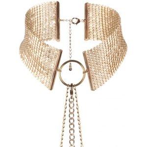Náhrdelník - obojek Désir Métallique Gold, zlatý