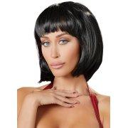 Krátká černá paruka Mia (mikádo) - Wigged Love