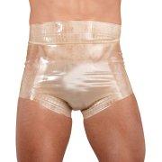 Latexové plenkové kalhotky transparentní, unisex