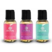 Dárková sada masážních olejů DONA Scentend - 3x 30 ml
