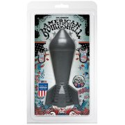 Dildo American Bombshell SHOCKWAVE Gun Metal - Doc Johnson