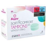 Menstruační tampony Beppy DRY – klasické (8 ks)