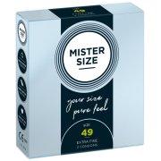 Kondomy MISTER SIZE 49 mm (3 ks)