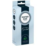 Kondomy MISTER SIZE 47 mm (10 ks)