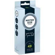 Kondomy MISTER SIZE 49 mm (10 ks)