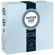 Kondomy MISTER SIZE 47 mm (36 ks)