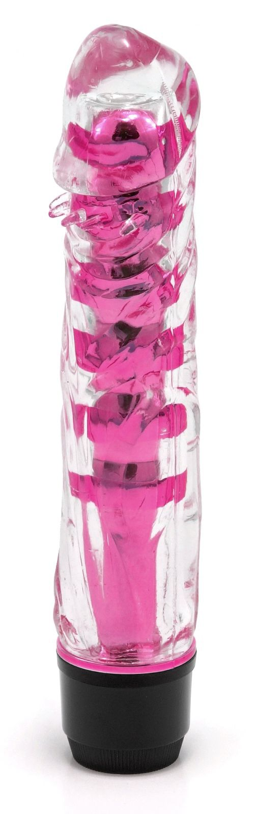 Vibrátor - tmavě růžový (17,5 cm)