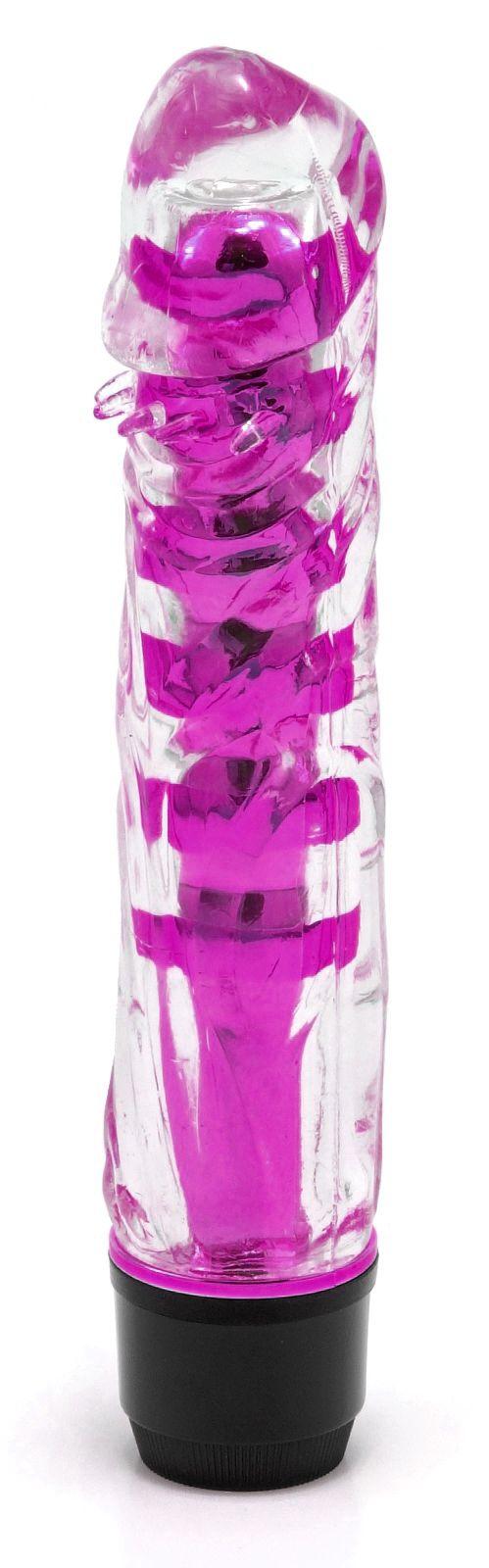 Vibrátor - fialový (17,5 cm)