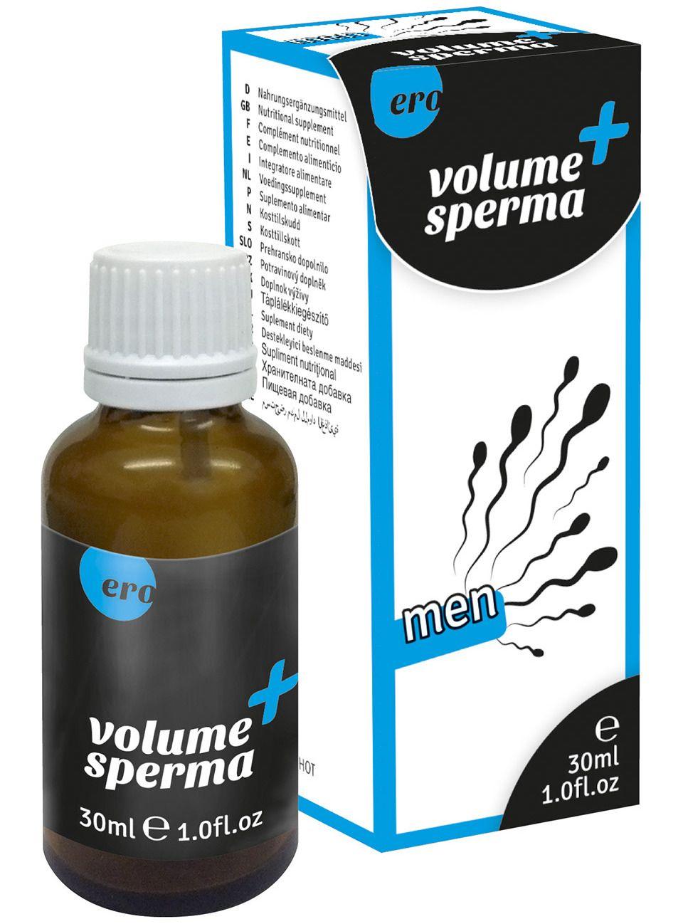 Kapky na lepší tvorbu spermií, 30 ml