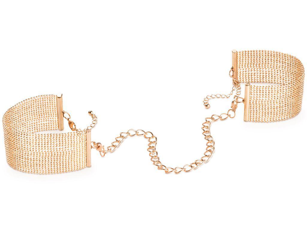 Bijoux IndiscretsNáramky - pouta Magnifique Gold, zlaté