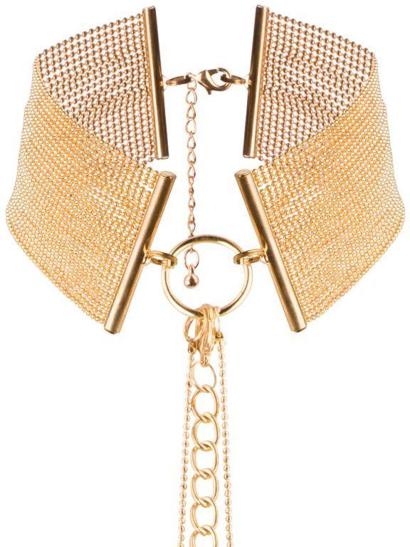 Bijoux IndiscretsNáhrdelník - obojek Magnifique Gold, zlatý