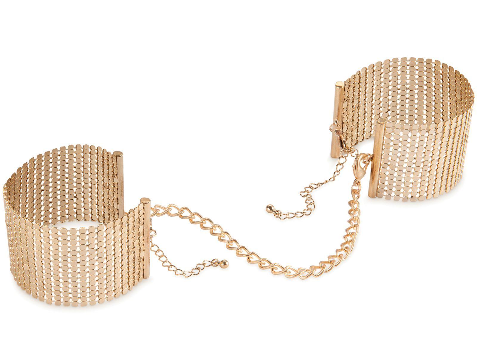 Bijoux IndiscretsNáramky - pouta Désir Métallique Gold, zlaté